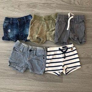 👶🏻 0-3 month Shorts Bundle